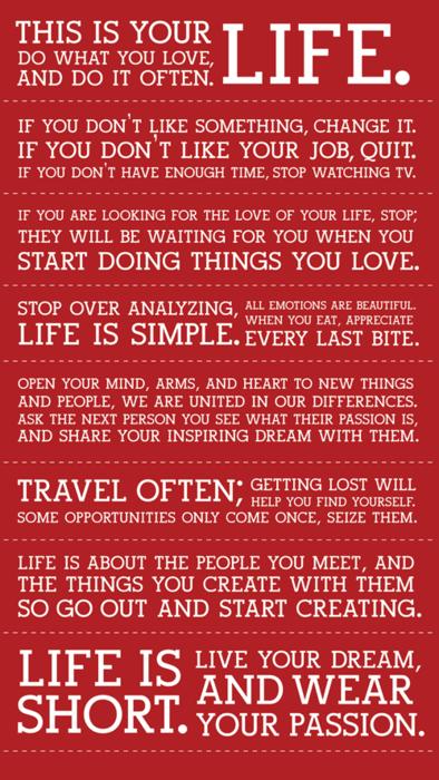 Life ¿Cómo te motivas?