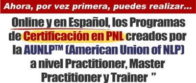 Certificaciónn Internacionalen PNL