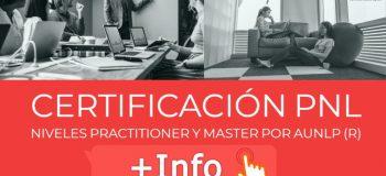Certificación Internacional Practitioner PNL por AUNLP (R)