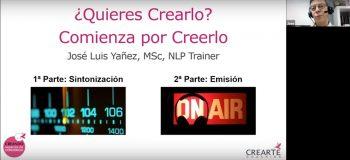 Webinar PNL: ¿Quieres Crearlo? Comienza por Creerlo