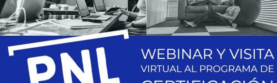 Webinar y Visita al Programa de Certificación Practitioner en PNL